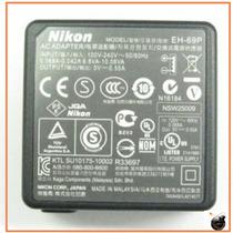 Cargador Original Nikon Eh-69p Eh-68p S3000 S6000 S8000