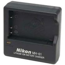 Cargador Mh-61 Nikon Original Cp1 En-el5 Coolpix Sol1