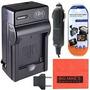 Panasonic Lumix Dmc-zs19 Cámara Digital Cargador De Batería