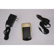 Cargador Generico Kit Auto Sony Np-bg1 Canon Nb-5l