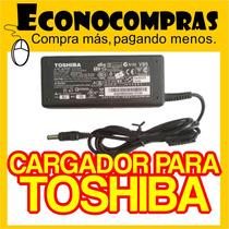 Cargador Adaptador Toshiba Satellite 19v 3.95a 75w Original!