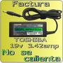 Cargador Original Toshiba Mini Nb255 Nb205 Nb200 19v Mmu