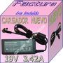 Cargador Compatible Laptop Toshiba L645 Sp4011m 19v 3.42a