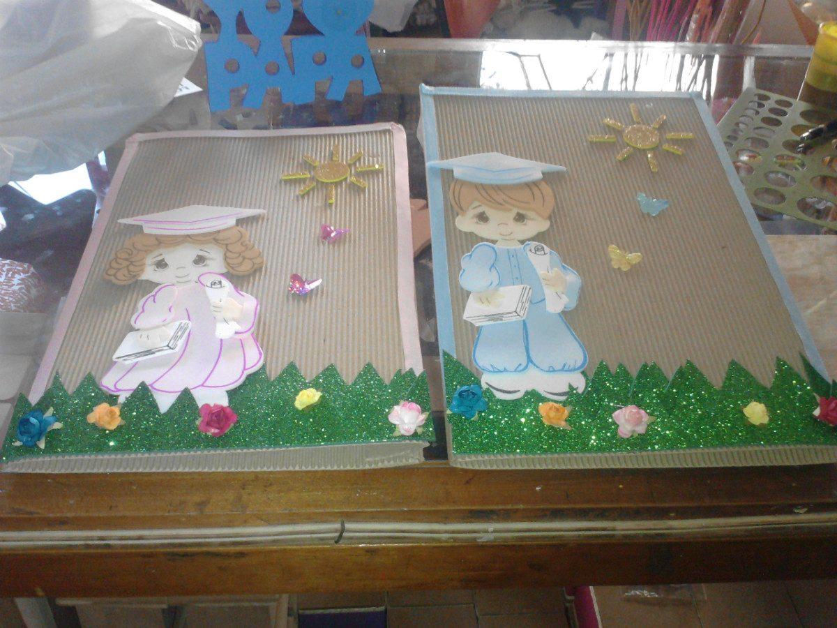 Carpetas Decoradas Para Graduaci N Preescolar