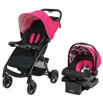 Carriola + Portabebé Travel System Graco Verb, Azalea
