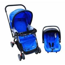 Carriola 4 En 1 Infanti Azul E4f