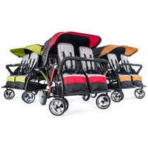 Carreola Carriola Triple Cuadruple Doble Para Bebe Infantil