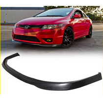 Spoiler En Facia Defensa Honda Civic Coupe 2006 - 2008