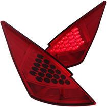 Nissan 350z 03-06 L.e.d T.l All Red