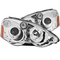 Acura Rsx 02-04 Projector H.l Halo Chrome With Led