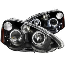 Acura Rsx 02-04 Projector H.l Halo Black With Led