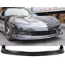 Spoiler Lip Facia Delantera Para Chevrolet Corvette C6 05 13