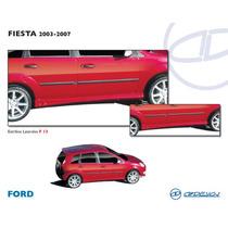 Estribos Fiesta Fibra De Vidrio Flexible Precio C/u Op4