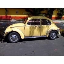Estribo Negro De Moldura Cromada Original Vw Sedan Vocho