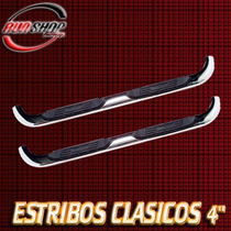 Estribos Ovalados 4 Nissan Pick Up Doble 2000 - 2013 C