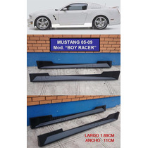 Estribos Deportivos Laterales Mustang Boy Racer 05 06 07 09
