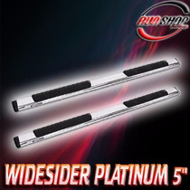 Estribos Widesider 5 Toyota Tundra Double 07 - 15 Inox