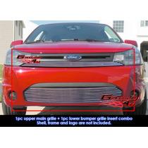 Focus Ford Coupe Parrilla Billet Acabado Espejo Importada