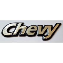 Emblema Texto Chevy, Version C1 Mod. 94, 03, Marca Nacional