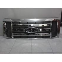 Parrilla Cromada Para Ford Lobo F-150 2009-2013...barata!!