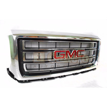 Parrilla Cromada Gmc Sierra Pick Up 2014 2015 2016 Original
