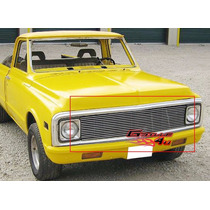 Parrilla Billet Cromada Chevrolet Cheyenne 69 70 71 72 Oldie
