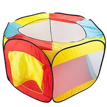 Carpa Hexagonal Pop Up Bola Del Hoyo Con Malla Malla Y Estuc