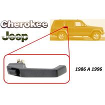 86-96 Jeep Cherokee Manija Exterior Trasera Lado Derecho