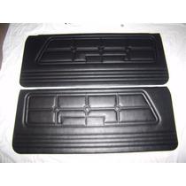 Par De Tapas Paneles De Puertas Mustang 71 72 73 Negro