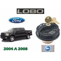 04-08 Ford Lobo Tapon De Gasolina Con Llaves