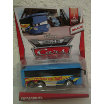 Disney World Of Cars 2 !! Camion Emmanuel 100% Nuevo