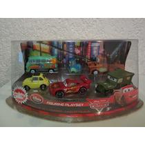 Set De Figuras De Disney De Cars !!!