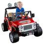 Power Wheels Jeep Wrangler - Lava Rojo Y Negro