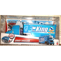 Cars Disney The King. Gray. Hauler. Trailer. Woc.