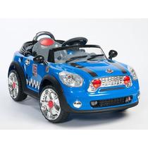 !!! Carro Electrico Para Niños Estilo Mini Cooper !!!