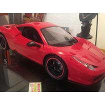 Ferrari Rojo 1:8 De Radio Control Envío Gratis