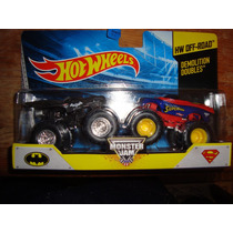 Carros Hot Wheels Monster Jam Batman Y Superman Super Precio