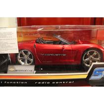 Carro Corvette De Radio Control Sport One