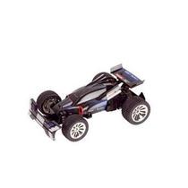 Ar . Formula 1 Cars- Carrera Agent Black Race Car - 1:16 Sc