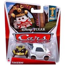 Disney Cars Takeshi De Coleccion Super Chase Nuevo