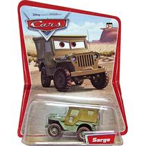 Cars Disney Sarge. Desert Card. 1ra. Edicion