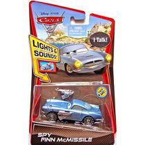 Cars Disney Spy Finn Mcmissile. Luz Y Sonido.