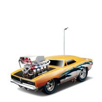 Tb Maisto R/c 1:18 Scale Muscles Machine Garage 1969 Dodge C