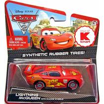 Cars Disney Lightning Mcqueen. Rubber Tires.