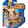 Carrito Hot Wheels Edición Especial Star Wars C3po