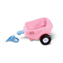 Little Tikes Cozy Coupe Princesa Remolque