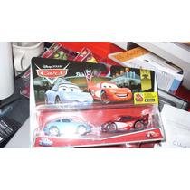 Cars Rayo Mc Queen Y Sally Disney Pixar Mattel