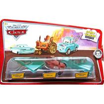 Cars Disney Wedding Day Ramone, Tractor, Mater. Story Teller