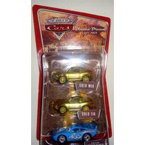 Cars Disney Tia & Mia Gold & Mcqueen. Woc.