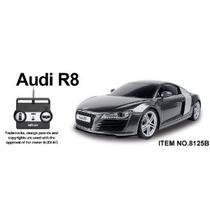 1:20 Audi R8 De Radio Control Remoto De Coches Rc - Negro (r